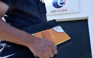 Une agence de Pôle emploi à Nantes.