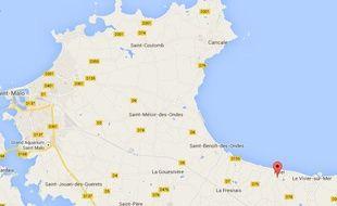 Les faits se sont déroulés sur la commune d'Hirel, au nord de l'Ille-et-Vilaine.