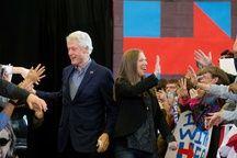 Bill et Chelsea Clinton le 31 janvier 2016.