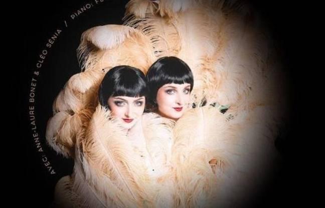 Anne-Laure Bonnet et Cléo Sénia dans Les Soeurs Papilles