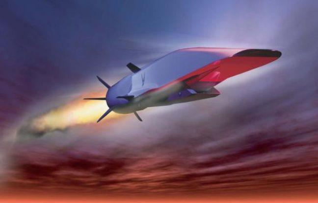 Le prototype d'avion hypersonique X51A-WaveRide, qui devrait être capable d'atteindre Mach 6 (vue d'artiste).