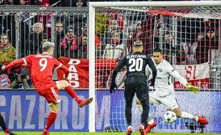Robert Lewandowski a ouvert le score pour le Bayern.