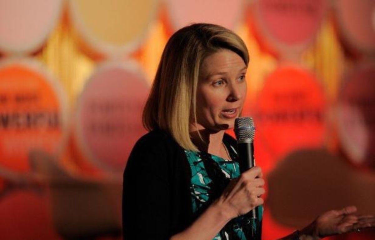 Le groupe internet américain Yahoo! a offert un pont d'or à sa nouvelle directrice générale Marissa Mayer pour la décider à quitter Google dont elle était l'une des dirigeantes: plus de 90 millions de dollars sur cinq ans. – Jemal Countess afp.com