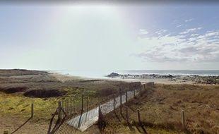 La grande plage de Plouharnel, dans le Morbihan.