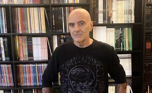 L'auteur de BD Corbeyran, chez lui dans le quartier des Chartrons à Bordeaux