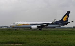 Un appareil de la compagnie Jet Airways