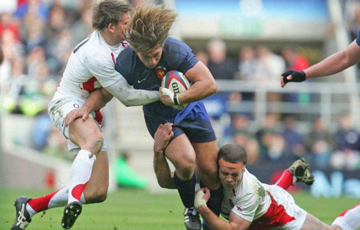 Dimitri Szarzewski est l'un des rares français à avoir gagné à Twickenham, ici le 15 mars 2009 en Angleterre. – A.Grant/SIPA
