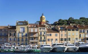 Des yachts dans le port de Saint-Tropez (Illustration).