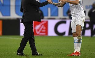 Rudi Garcia a dit adieu à ses joueurs, dont Lucas Ocampos.