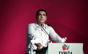 Le Premier ministre grec Alexis Tsipras à Athènes, le 30 juillet 2015