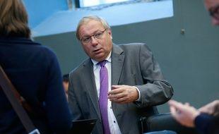 Le président du parlement de Wallonie, André Antoine.