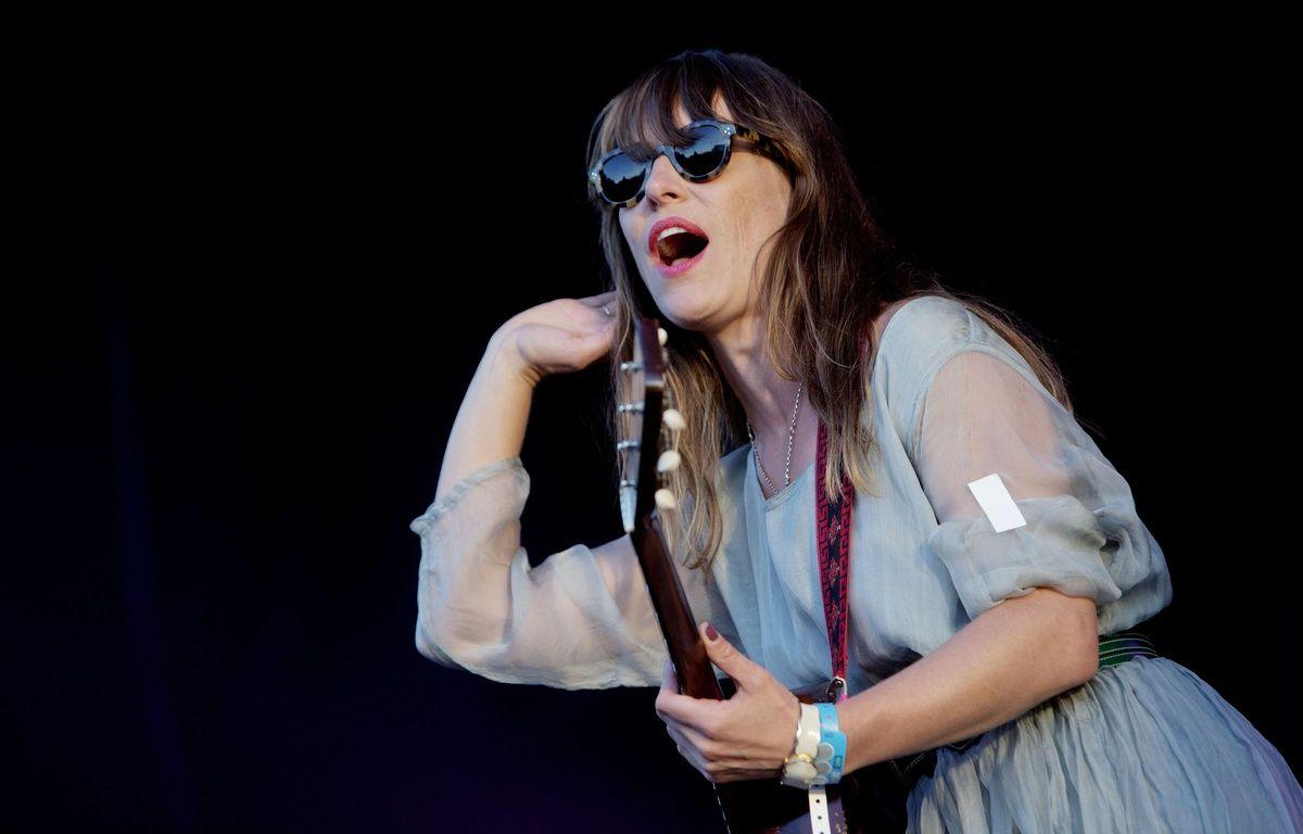 Feist en concert à Oslo, en 2012. – Stian Lysberg Solum/AP/SIPA