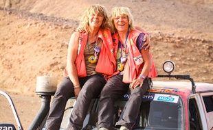 Patricia et Brigitte participent au rallye des gazelles.