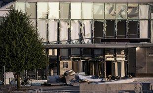 Un explosion a touché le siège de l'administration fiscale à Copenhague, faisant un blessé, le 7 août 2019.