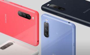 Sony annonce trois nouveaux smartphones Xperia