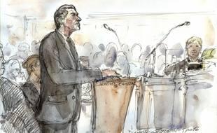 Jérôme Cahuzac, lors de son procès le 5 septembre 2016 à Paris.