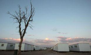 Le camp Liberty, près de Bagdad, le 17 février 2012 en Irak