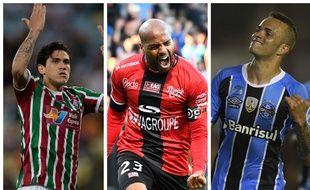 Pedro, Briand et Luan sont en bonne position sur le bureau des Girondins de Bordeaux.
