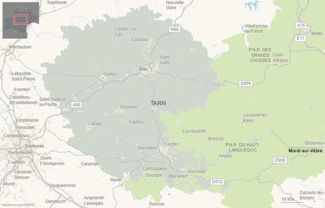 La commune de Murat-sur-Vèbre, dans les Monts de Lacaune.