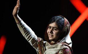 Malala Yousafzaï, prix Nobel de la paix, à Oslo le 11 décembre 2014