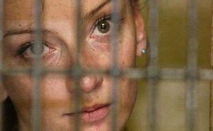 La Française Florence Cassez, après son arrestation au Mexique, le 9 décembre 2005.