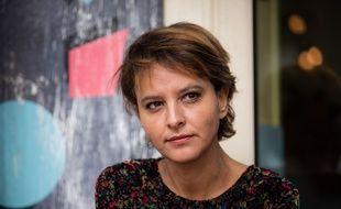 La tête de liste socialiste en Auvergne-Rhône-Alpes, Najat Vallaud-Belkacem.