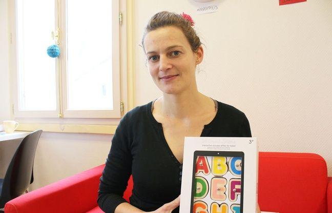 Marie Mérouze, fondatrice de la start up Marbotic
