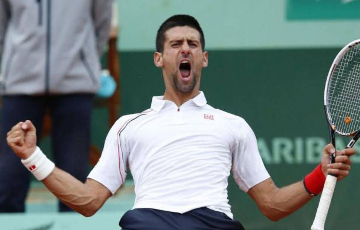 Malgré quatre balles de match, Jo-Wilfried Tsonga a été éliminé en quarts de finale de Roland-Garros par le N.1 mondial Novak Djokovic, vainqueur du Français en cinq sets 6-1, 5-7, 5-7, 7-6 (8/6), 6-1 mardi. – Thomas Coex afp.com