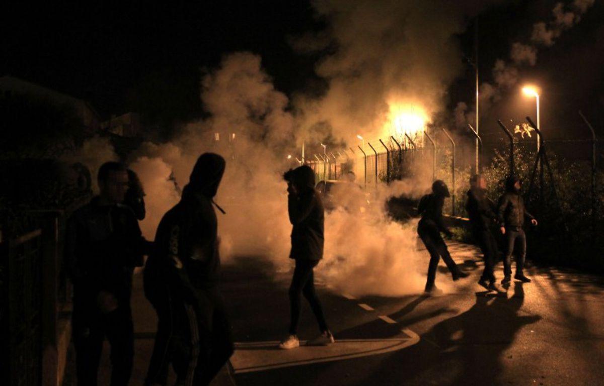 Incidents dans les rues de Bastia, le 15 février 2016.  – Pascal POCHARD-CASABIANCA / AFP