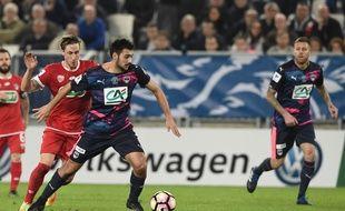 L'attaquant a marqué le but de la victoire lors du temps additionnel.