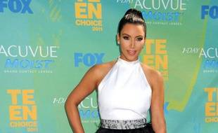 Kim Kardashian aux Teen Choice Awards, le 7 août 2011.