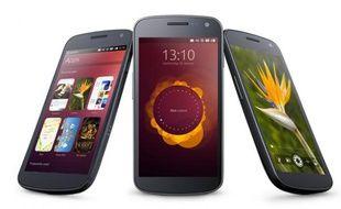 Ubuntu for phones, présenté par Canonical le 2 janvier 2013.