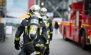 Des sapeurs-pompiers en janvier 2019 à Paris (photo d'illustration).
