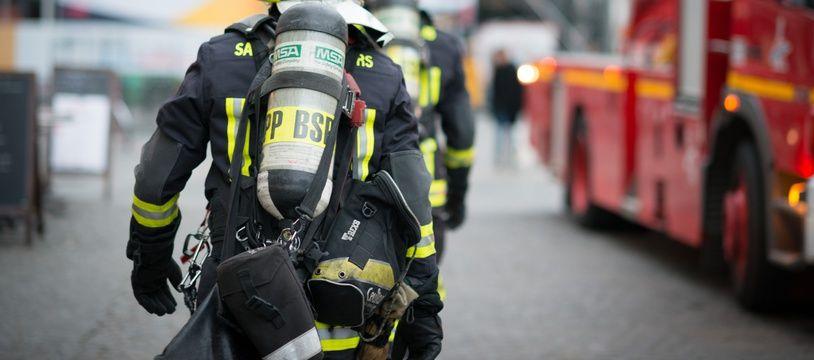 Des sapeurs-pompiers en janvier 2019 à Paris (photo d'illustration).