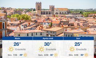 Météo Montpellier: Prévisions du jeudi 6 août 2020