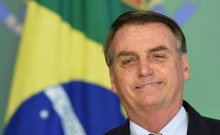 Jair Bolsonaro, le président brésilien, le 15 janvier 2019.