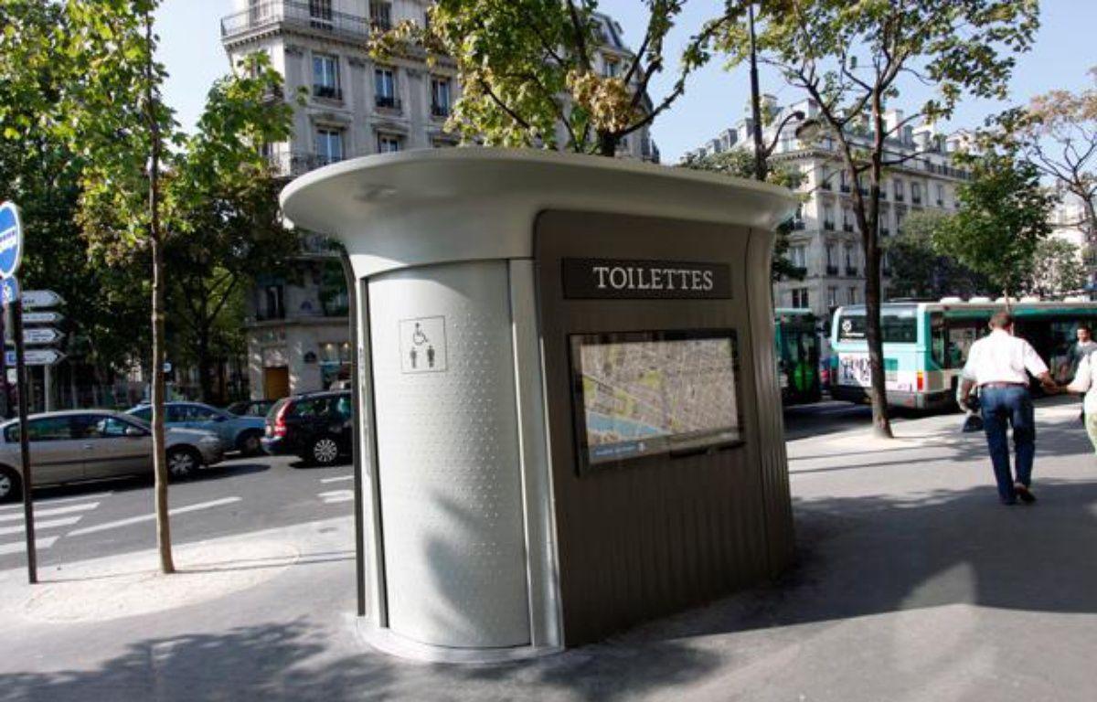 Des toilettes publiques – Mairie de Paris