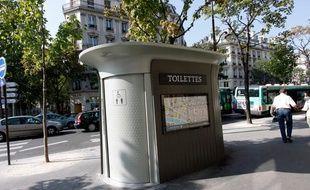 Des toilettes publiques