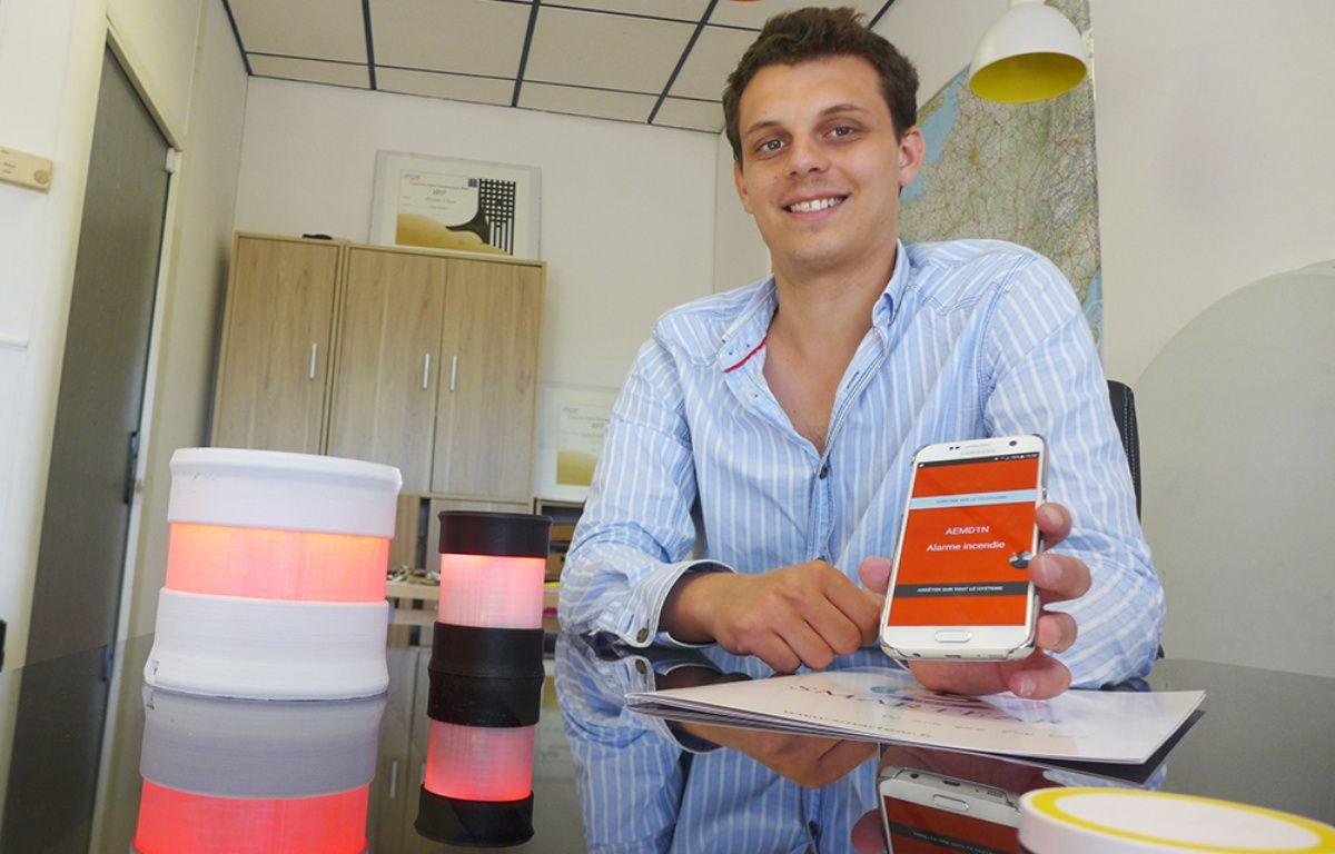 Sébastien Llorca est le cofondateur de la start-up Smart Ear. – M. Frénois / ANP / 20 Minutes