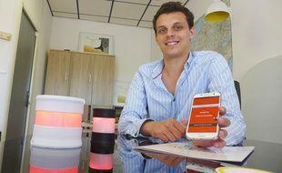 Sébastien Llorca est le cofondateur de la start-up Smart Ear.