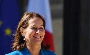 Ségolène Royal, le 12 avril 2017 à Paris.