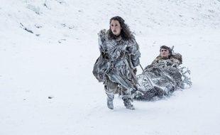 Ellie Kendrick et Isaac Hempstead-Wright dans la saison 7 de « Game of Thrones ».