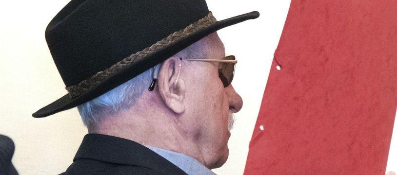 Bruno Dey, 94 ans, jugé en octobre 2019 pour avoir été gardien d'un camp d'extermination nazi en 1944 et 1945.