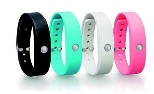 Les bracelets connectés de Toshiba.