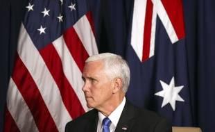 Mike Pence le 17 novembre 2018 en Papouasie Nouvelle-Guinée