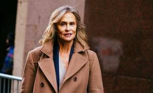 Lauren Hutton en février 2017 à New York (Etats-Unis).