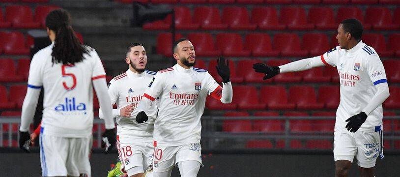 Memphis Depay a réduit la marque samedi face au Stade Rennais d'un but somptueux qui a permis à l'OL d'obtenir le point du nul au Roazhon Park.