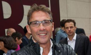 Julien Courbet à la conférence de rentrée 2013 de RTL.
