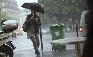 Les huit départements d'Ile-de-France ont été placés lundi matin en alerte orange en raison d'orages attendus dans la matinée pouvant être localement violents, a indiqué Météo France dans un communiqué.