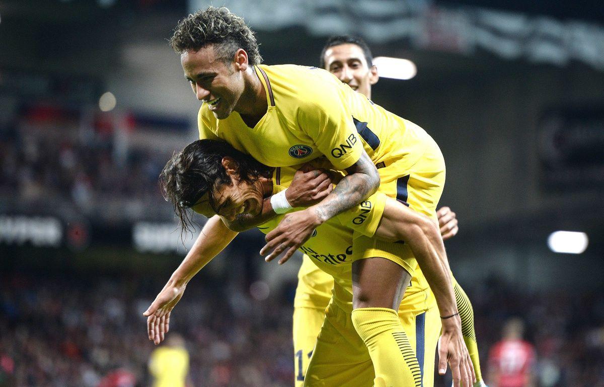 Neymar et Cavani, le duo infernal qui va faire très, très mal cette saison en Ligue 1.  – JEAN-SEBASTIEN EVRARD / AFP